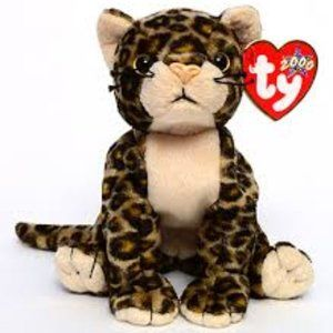 TY Beanie Babies Collection Sneaky the Leopard
